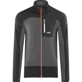 North Bend Nevis Fleecejacke Herren dunkelgrau